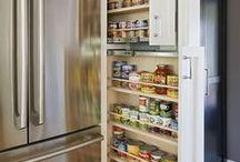 Home Storage / Clever ways to stay organized