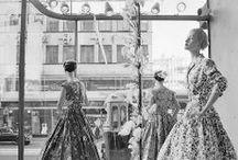 Ladies fashion 1950s