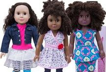 """My Muse Dolls: Featured Dolls / """"For every girl to see her beauty, for every girl to seize her dream""""-- that's our motto and we're sticking to it!  We're a group of female engineering alums that have banded together to celebrate various types of beauty, and inspire ambitious journeys for girls."""