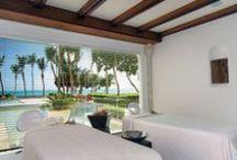 Six Senses Spa, Puntacana Resort & Club, Dominican Republic. / An oasis of rejuvenation, Six Senses Spa Punta Cana is situated on the Caribbean shore in La Cana Golf & Beach Club,