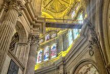 Malaga Cathedral / Malaga Cathedral, Malaga, Spain