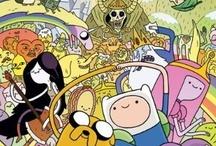Adventure time / hora de aventura / by Laura Perez