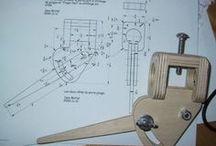 Woodworking jigs / Hulpmiddelen voor houtbewerkingen