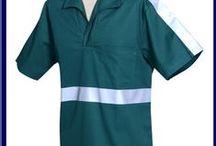 Linha Workwear / Linha Workear da Elisil conta com bermudas, calças, camisas, guarda-pós, jaquetas e macacões. Confira