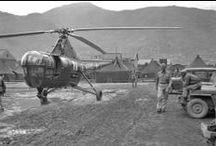 El helicópteros en la guerra de Corea (25Jun 1950 - 27Jul 1953)