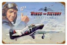 Ilustraciones de Guerra Aerea