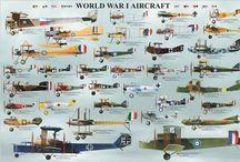 Aviones WWI y WWII