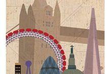 Poster de Paises y Ciudades