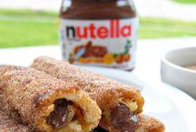n u t e l l a / Recipes using Nutella