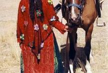 nomads, tribes, folk costume