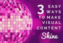 Visual Content / Les meilleures pratiques pour la création de visuels sur internet ou pour les réseaux sociaux. Les erreurs à éviter.