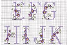 Monograms / Various technique monograms