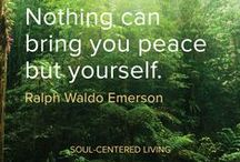 Soul-Centered Living / The essence of Soul-Centered Living is Awakening into the Awareness of who you truly are and living your life from within that Awakened state.