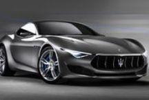 Maserati / Marchio sportivo italiano diffuso in tutto il mondo. Auto ultrasportive dalle linee aggressive ma allo stesso tempo eleganti.