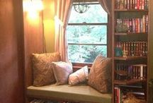 Reading Nooks and other nice spots / Interior design