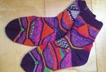 Strickanleitungen Socken / Strickanleitungen für Socken von Knitteltante