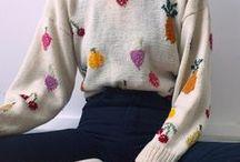 knitwear, crochet