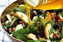 Salad: Not Just Diet Food / A compilation of our favorite salads using Pairings olive oils and balsamics