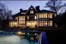 Bethesda Homes of Interest / Interesting homes in and around Bethesda Maryland.