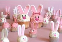 Easter / Colored Eggs, Easter Baskets & Bunny Rabbits - All things Easter! #Easter, #Spring, #Bunny