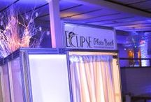 PhotoBooth/PhotoLounge / Our custom white plexiglass L.E.D. up-lit Photo Booth. For all events types. Includes any color L.E.D. illuminations, custom scrapbook & printouts, cool props, on-site tech, and USB with all prints at the end of the event.