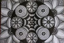 Mandalas / If I could, I would make mandalas all over the world.  Maybe I will!