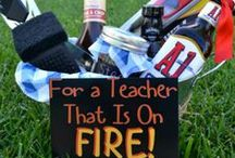 TEACHER APPRECATION / New school year means new teachers. Show your teacher appreciation with some of these great ideas.