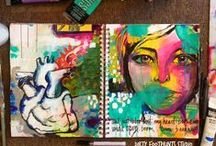 My Art Journal / I think I've been art journaling for years & just didn't know it!