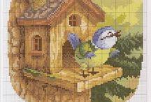 Keresztszemes/Cross stitch