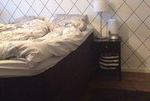 Makuuhuoneremppa / Ideoita makuuhuoneen seinän uusia pintoja varten.. Ja kuvia lopputuloksesta :)