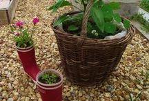 Potager en carré du Spation'hôtes de la Gare / Profitez d'une petite visite dans notre chambre d'hôtes en Loir-et-Cher et initiez-vous au potager en carré, culture basée sur la l'associations des légumes, fleurs et aromates