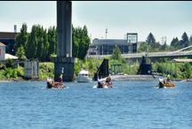 2015 Dragon Boat Race in Portland / The Dragon Boat Race in #Portland is an annual cultural event.