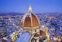 """Florence, Italy / Heart of Tuscany. Think Ponte Vecchio, Michelangelo's David, and the best Nutella Gelato in the world. Legend has it, Florentines suffer from the """"Sickness of the Dome"""" when they are away from Il Duomo for too long... I, too, run a fever when I'm away for too long..."""