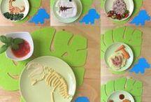 """Kindergeburtstag """"Dinosaurier"""" / Ideen für eine Dino-Party zu sammeln."""