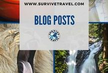 """Best of Survive Travel / Visit www.SurviveTravel.com to get your FREE Ebook """"How to Create a Life of Travel"""" 
