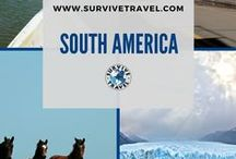 """South America Travel / Things to do while traveling in South America including Argentina, Bolivia, Brazil, Chile, Colombia, Ecuador, Falkland Islands, French Guiana, Guyana, Paraguay, Peru, Suriname, Uruguay, Venezuela, etc 