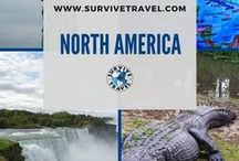 """North America Travel / Things to do while traveling in North America including USA, Canada, Mexico, etc. 