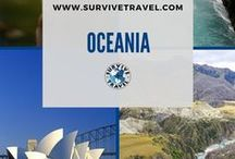 """Oceania Travel / Things to do while traveling in Oceania including Australia and New Zealand 