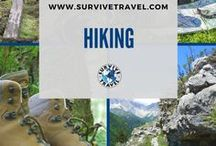 """Hiking Tips and Destinations / Best hikes from around the world and general hiking tips. Hiking Trails, Hiking Gear, Hiking Ideas, Hiking Hacks 