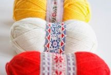 thread, twine and embroidery floss