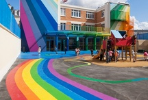 """Play / Here we celebrate the art, science and importance of """"Play"""" by pinning fun play spaces and activities."""
