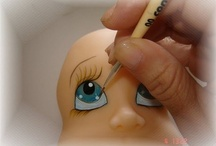 Eyes, hair - how to
