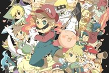 video games / Mostly Pokemon and Legend of Zelda