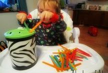 Activities for little ones / activities for toddlers and babies
