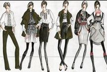 Fashion Sketches of different Artists