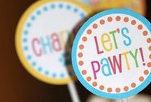 Pet Party Fun / You love your pets just like family so it's important to celebrate their special day just like anyone else's.  These ideas will help you throw the best paw-ty any dog or cat could ask for.