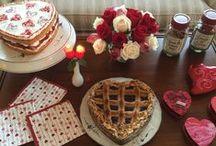 Valentine's Day / Decoration, Celebration, Ideas, Recipes, Traditions, DIY, Flowers,
