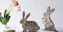 miaVILLA ♥ Ostern / miaVILLA zeigt seine Osterdeko! Es wird Frühling, es wird bunt, hier findet ihr unsere Trends für die Osterzeit! Hasen, Ostereier, Federn und Blumen, alles ist erlaubt!