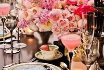 Chic garden reception