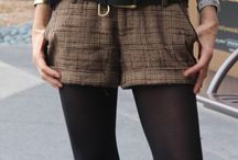 Style on the short side / Shorts and mini skirts